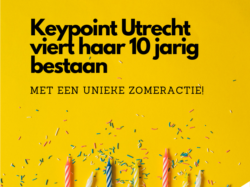 Keypoint Utrecht is jarig en deelt uit