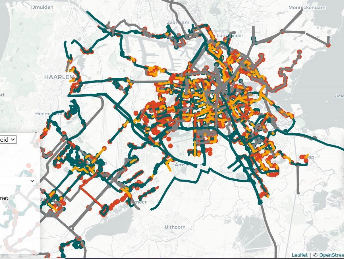 Datapoint: ov-lijnen – Wat kunnen overheden doen om het ov betrouwbaarder te maken?