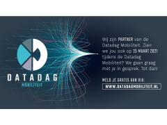 Ontmoet ons op 25 maart op de Datadag Mobiliteit!