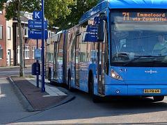 Reisinformatie systeem (DRIS) busstation Zwolle