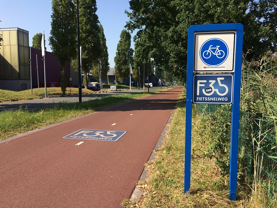 Snel op de fiets tussen Borne en Hengelo
