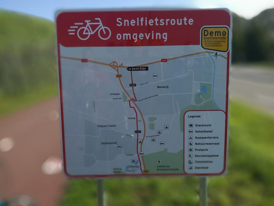 Cleantech Regio - evaluatie snelle fietsroutes