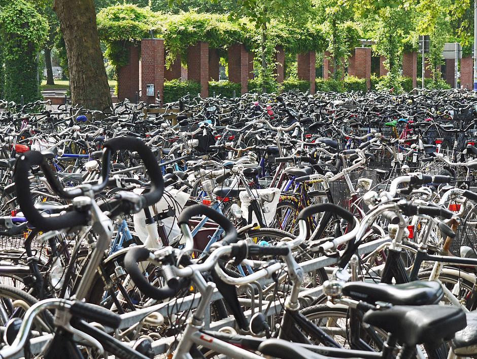 Fietsparkeeronderzoek binnenstad Rotterdam
