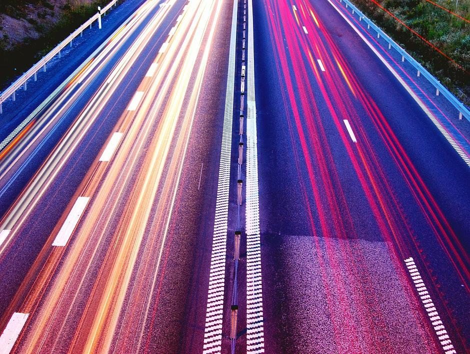 Verkeersgedrag bij verschillend aantal rijstroken per rijbaan