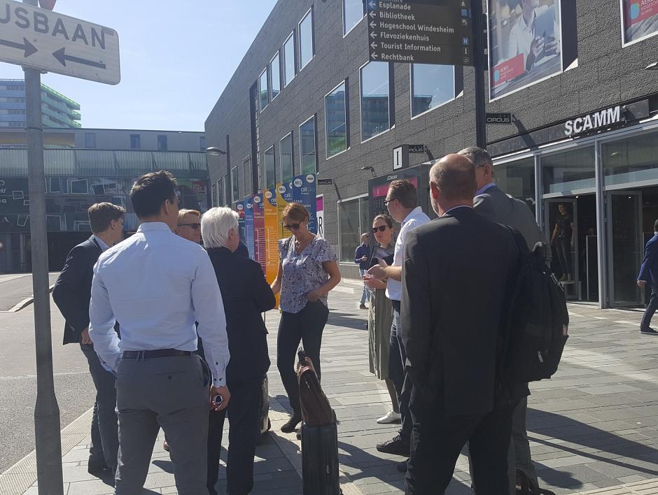 Zweeds vervoersbedrijf Nobina bezoekt Nederland