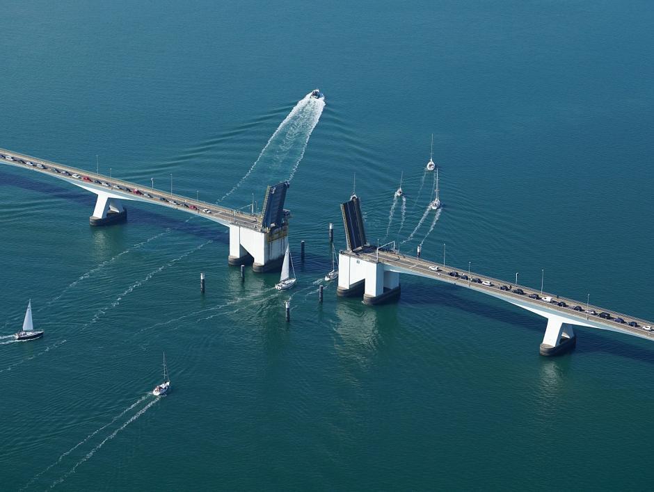 Meldingen over open bruggen zijn zinvol